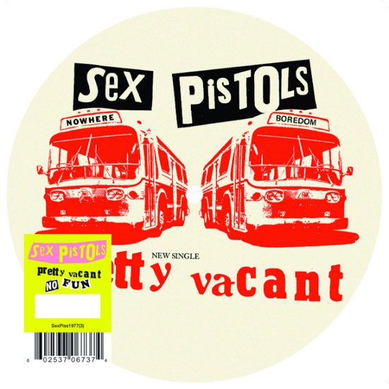 "Rogue Mag Music - Sex Pistols re-release limited edition 'Pretty Vacant' 7"" on 2nd July"