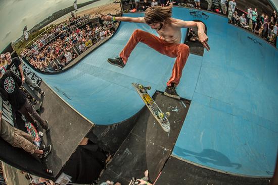 Rogue Mag Festivals - Boardmasters 2012 - Ben Grove