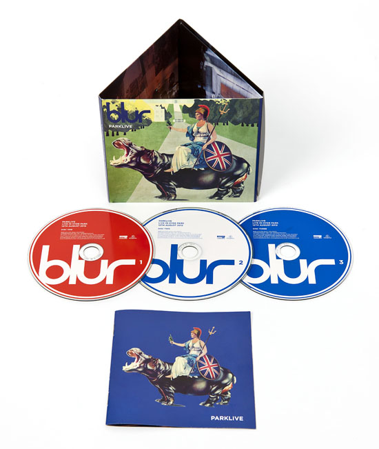 Rogue Mag Music - Blur's Park Live at Hyde Park out CD/DVD on 3rd December