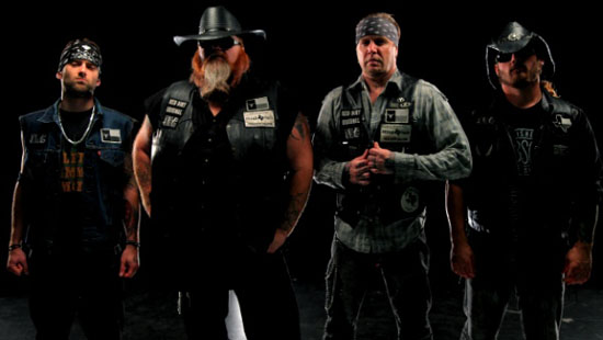 Rogue Mag Music - Texas Hippie Coalition unleash video for 'Turn It Up'