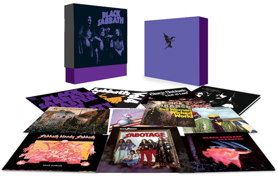 Rogue Mag Music - BLACK SABBATH LIMITED EDITION BOX SET | RELEASE DATE: 12/12/12