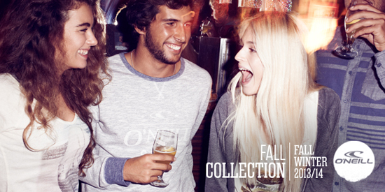 Rogue Mag Brands - O'Neill Launches Fall 2013 Collection
