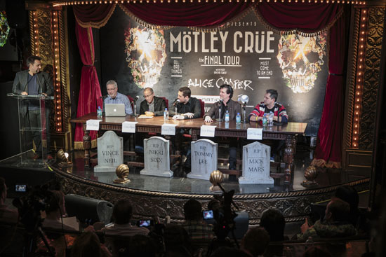 Rogue Mag Music - MOTLEY CRUE:RIP Band Sign Cessation of Touring Agreement