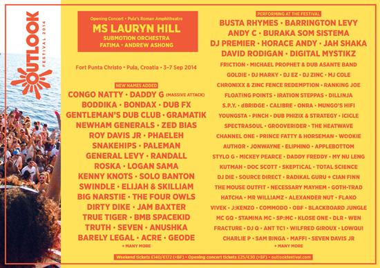 Outlook Festival Croatia announces new names for summer 2014