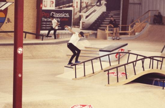 d16c94d97c66 Rogue Mag -  Flesh   Bones  Skatepark hosts Vans Shop Riot European Finals