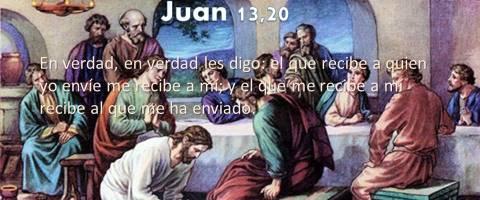 enviado – Juan 13,16-20