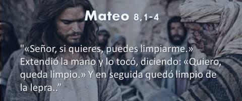 Mateo 8,1-4 – queda limpio