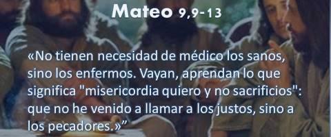 Mateo 9,9-13 – los pecadores