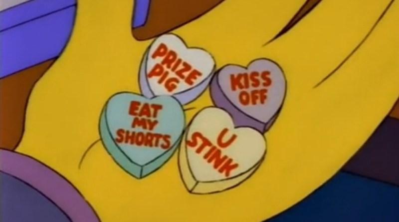 Simpsons Valentine's Day