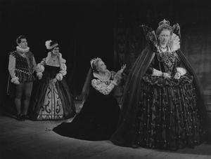 1953 Premiere production of Gloriana at Royal Opera House