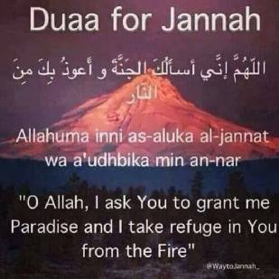 Dua for Jonnot