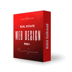 real estate web design pro + by rohit gaikwad