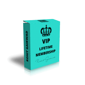 VIP LIFETIME MEMBERSHIP Rohit Gaikwad