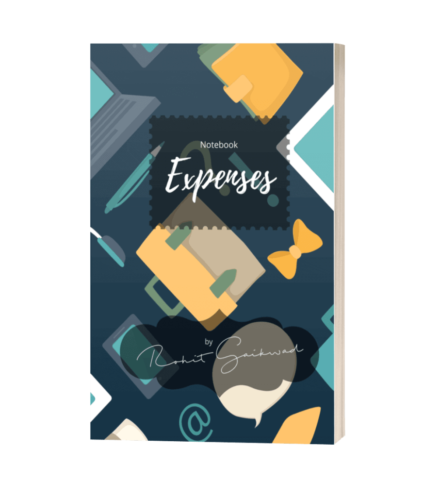 notebook expenses by rohit gaikwad