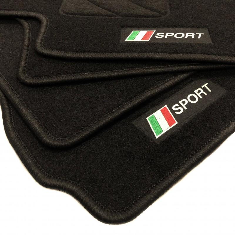 tapis de sol drapeau italie fiat 500 l 2012 actualite