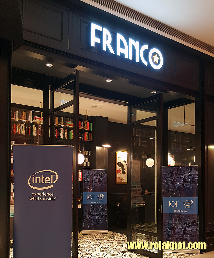 Franco, the swank French-Japanese restaurant in Pavilion