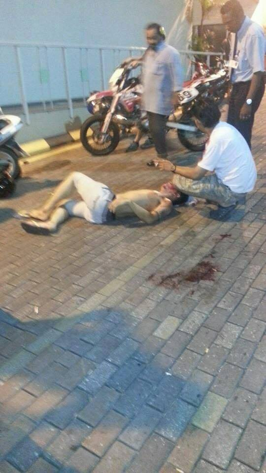 The mob at Low Yat Plaza randomly attacked people in the area