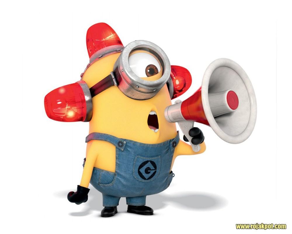 Fire marshal Minion : Bee Doo Bee Doo!