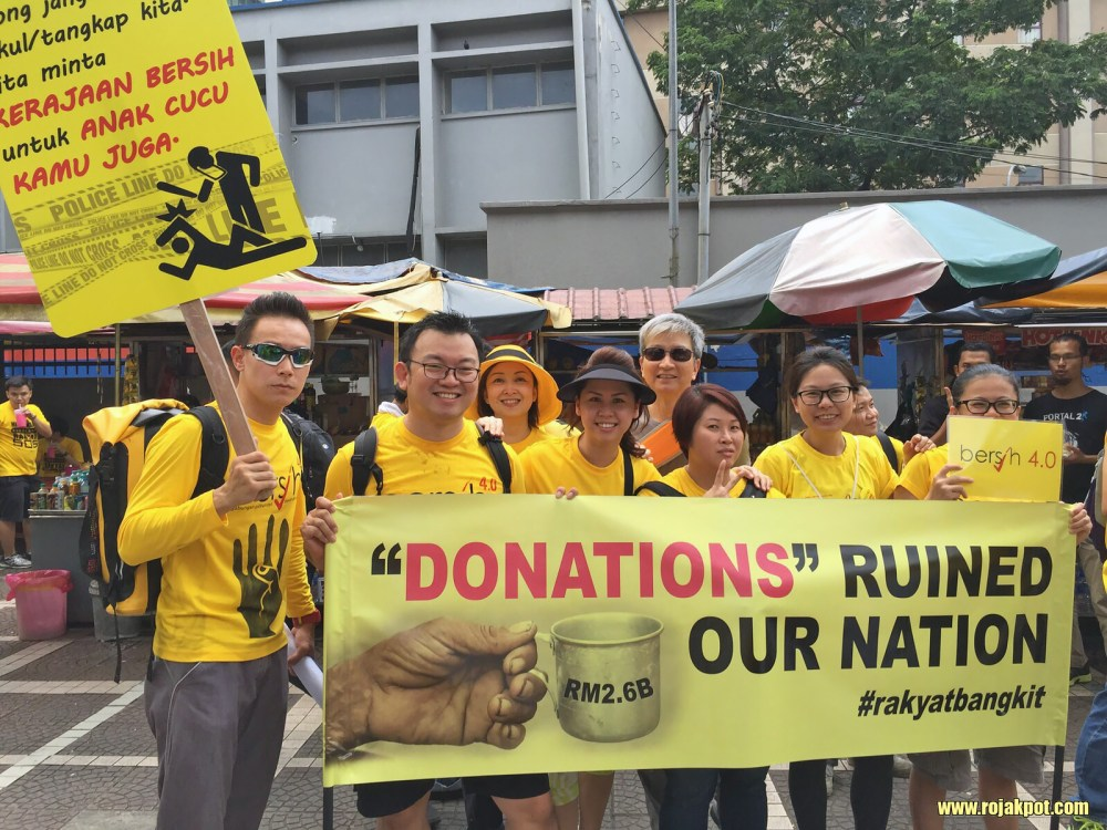 Bersih 4 - Funny placards