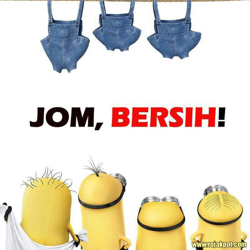 Even the Minions are going to Bersih 4.0!