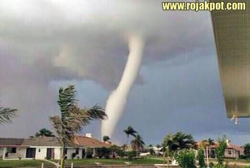 Tornado Hits Manjung, Perak… NOT!