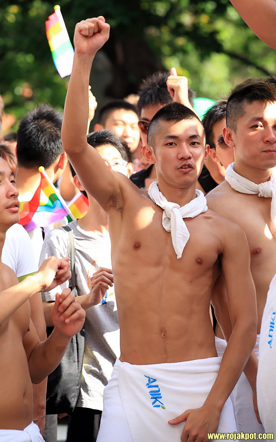 7th Taiwan Pride parade on the 31st of October 2009