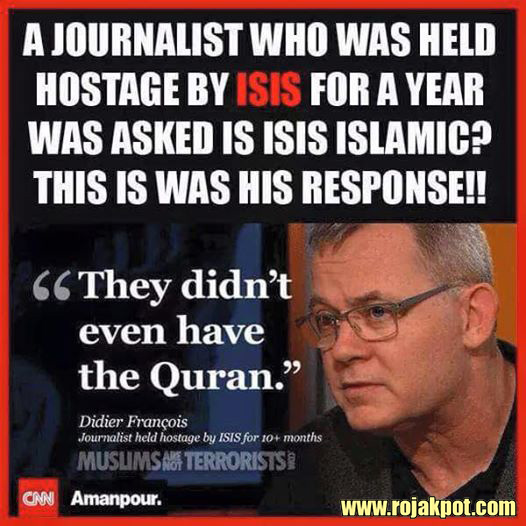 ISIS Is Not Islamic Because They Don't Have The Quran