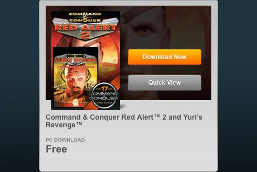 Command & Conquer : Red Alert 2 & Yuri's Revenge - FREE!
