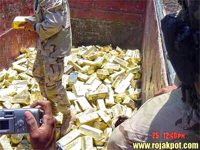 The United States Stole Iraqi Gold & Oil? - The Rojak Pot