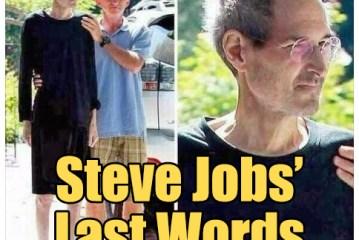 Steve Jobs' Last Words Debunked!