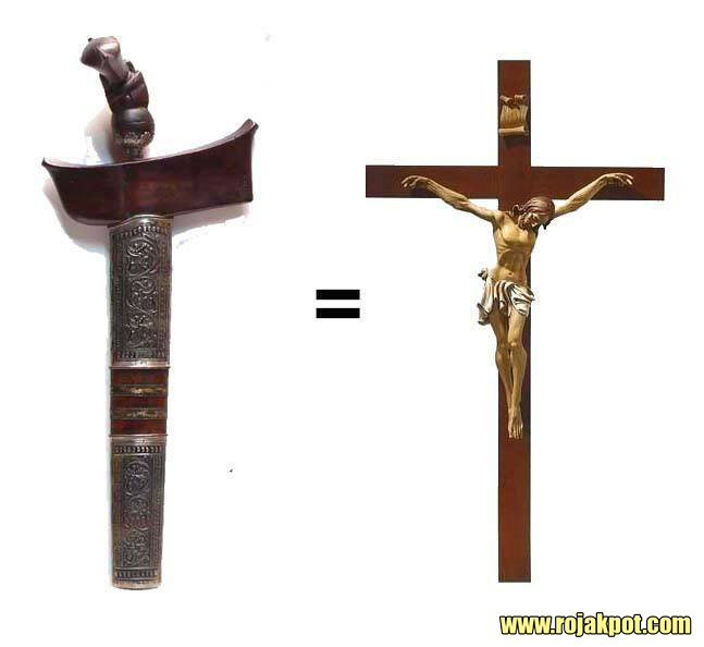The keris with a Christian agenda?