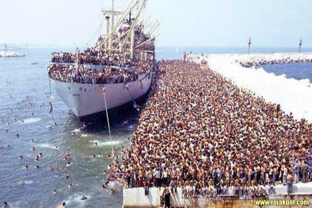 Europeans Trying To Get To North Africa On The Vlora