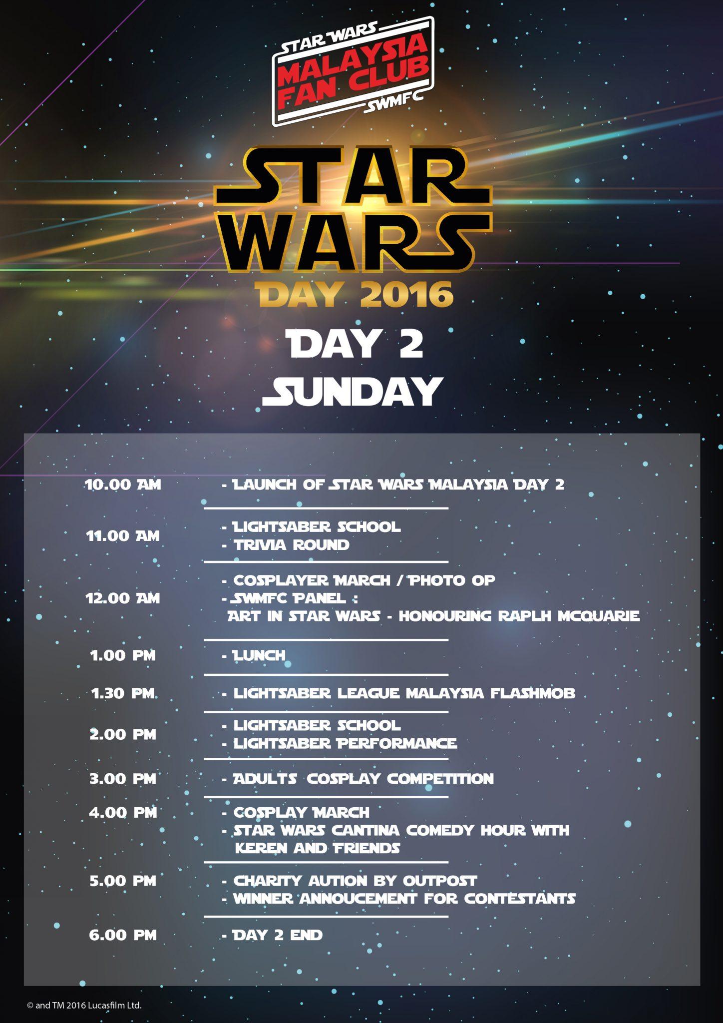 Star Wars Day Malaysia 2016