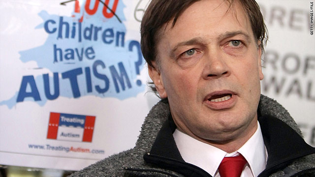 Correcting The Record On Andrew Wakefield