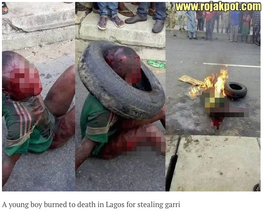 Was This 7-Year Old Boy Burned Alive For Stealing Food?
