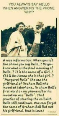 Did Alexander Graham Bell Invent The Hello Greeting?