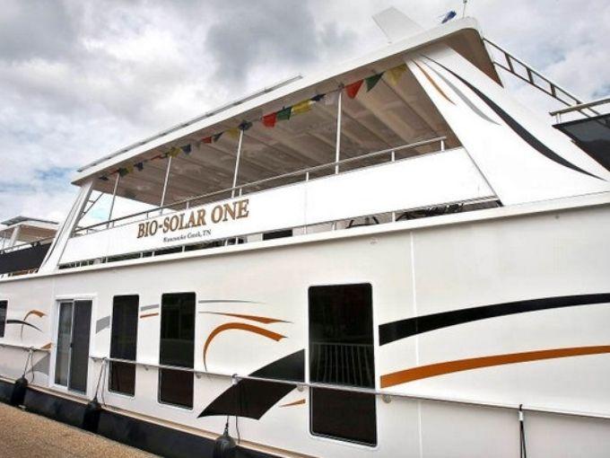 Bio-Solar One houseboat