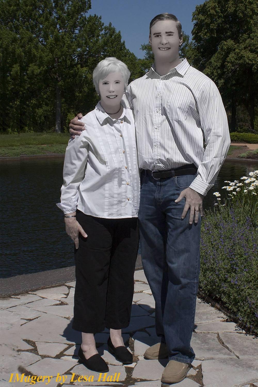 The Lesa Hall Photoshop Fail Goes Viral!