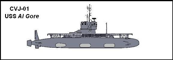 CVJ-01 USS Al Gore