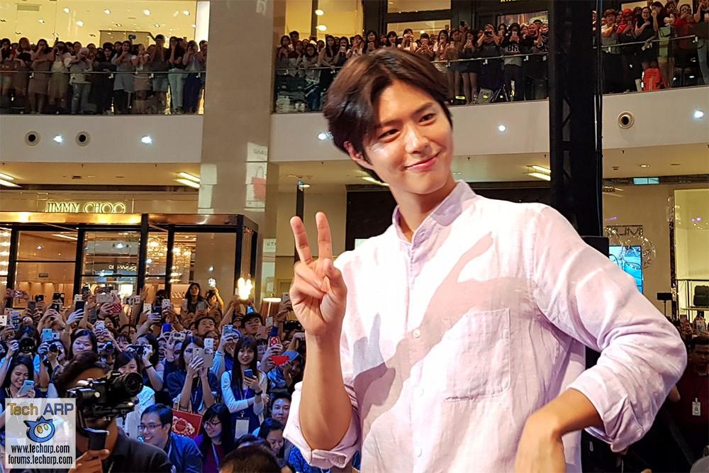 Korean Actor Park Bo-Gum LIVE In Malaysia!