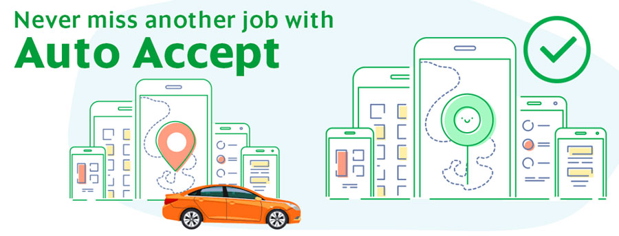 The 10 Ways To Make More Money As A Grab Driver! - Auto Accept
