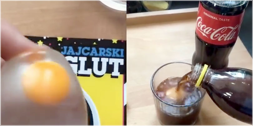 Can Soda Or Soft Drinks Really DISSOLVE Egg Shells?