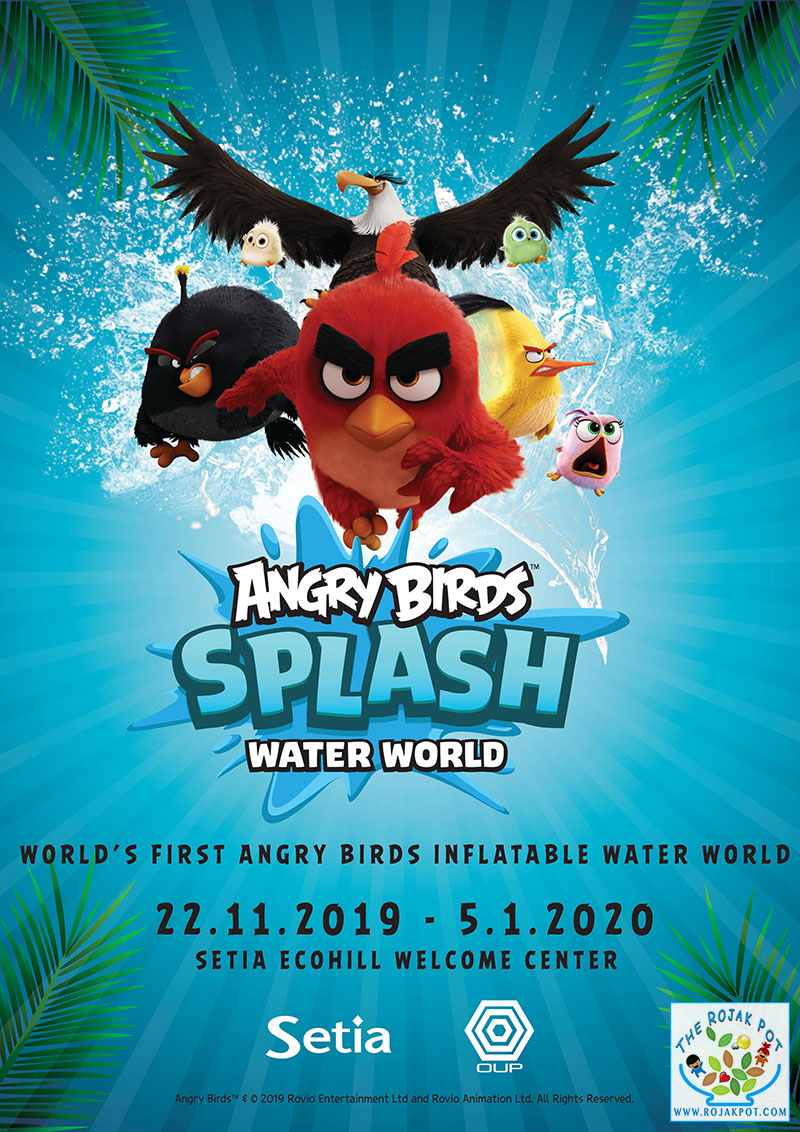 Angry Birds Splash Water World poster