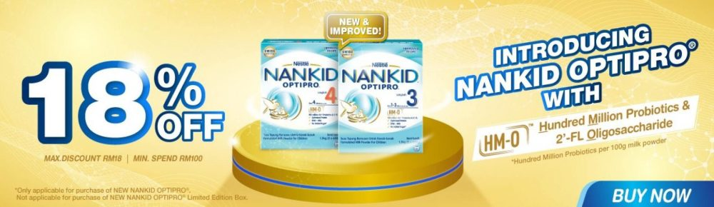 Nestle NANKID OPTIPRO Lazada discount