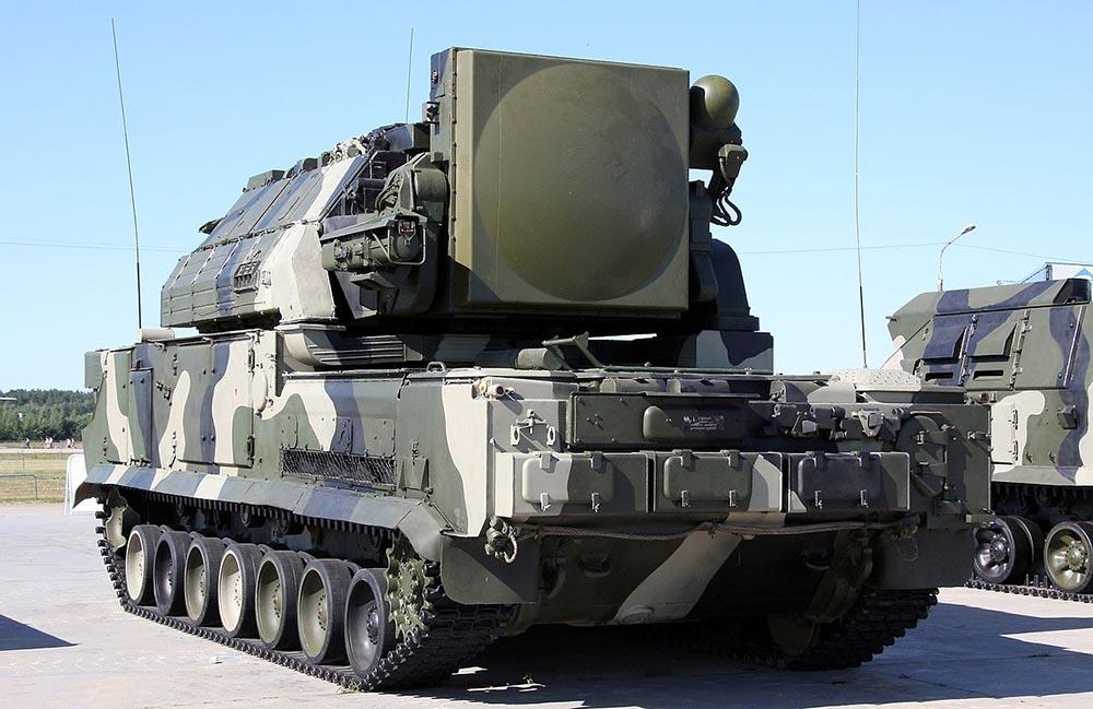 Tor M1 SA-15 Gauntlet missile system