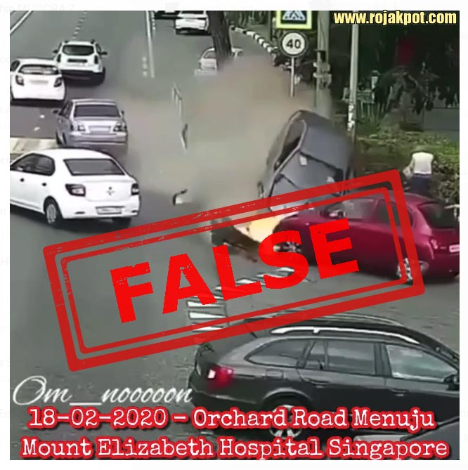 Deadly 18 February 2020 Orchard Road Accident Debunked!