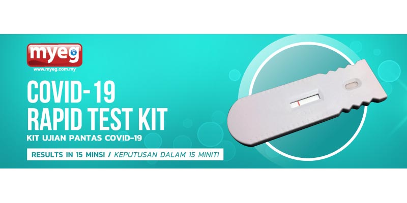 MYEG COVID-19 Rapid Test Kits Are Fake?