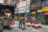 Military Cordons Off Jalan Masjid India Under Enhanced MCO!