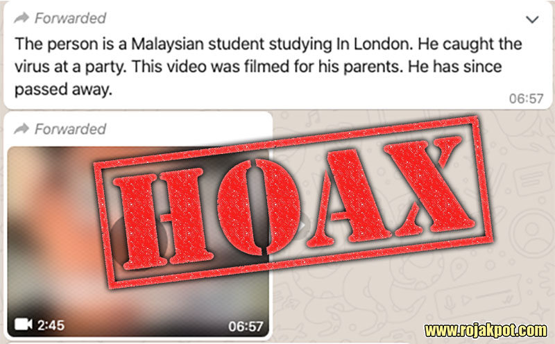 Did A Malaysian Student Die From COVID-19 In London?