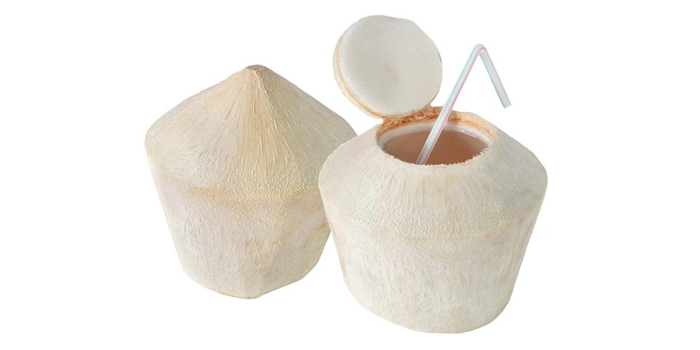 How To Open A Pre-Cut Coconut, The Easy Way!